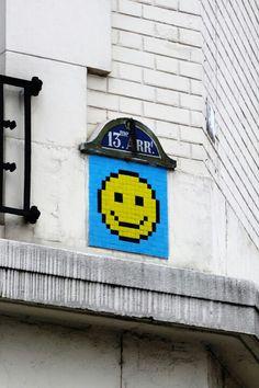 Paris 13 - rue de patay-space invader!
