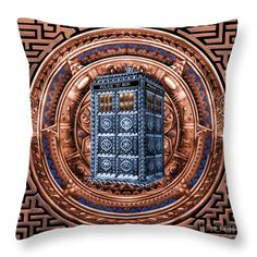 Aztec Time Travel Pendant Medallion Availabe for @pointsalestore #PillowCase #PillowCover #CostumPillow #Cushion #CushionCase #PersonalizedPillow #aztec #dalek #drwho #tardis #bluephonebox #davidtennant #medallion #symbol #tattoos #painting #drawing #timemachine
