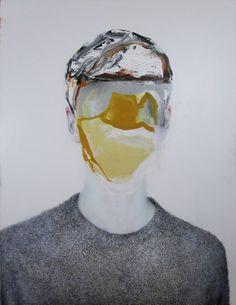"Antoine Cordet; Painting, ""THIS SUIT STILL WALKS"""
