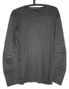 OG Helmut Lang Biker Sweatshirt Gr M Biker Longsleeve Sweatshirt Raf Vintage   eBay