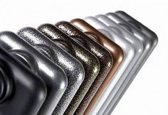 Photo of the day: Electric Colori Radiator by Feature Radiators' page showing the array of available RAL colours and special finishes e.g. metallic.