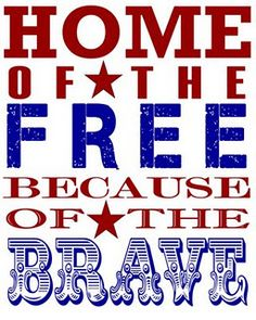 Yes sir! Thank you to all the men and women out there who fought ans are still fighting for our freedom.