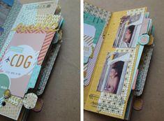 Le blog de Kesi'Art » Un mini album étape après étape, suivez le guide !