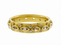 Lacy Marquis Sapphire Band