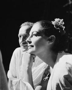 David Niven and Ava Gardner in 1956.