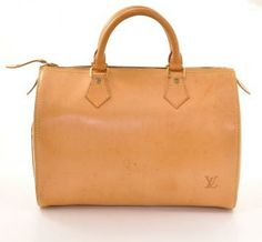 Louis Vuitton Speedy 30 City Bag All Vachetta  Leather Handbag L492