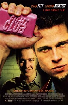 *-WATCH>> FIGHT CLUB (1999) Full Movies=for=FREE!!fight club,fight club full movie,fight club movie,fight club brad pittA ticking-time-bomb insomniac and a slippery soap salesman channel primal male aggression into a shocking new form of therapy. Their concept catches on, with underground fight clubs forming in every town, until an eccentric gets in the way and ignites an out-of-control spiral toward oblivion.#fightclub #fightclubmovie #fightclubquotes #fightclub2 David Fincher, Edward Norton, Best Drama Movies, Good Movies, Movies Free, Satire, Fight Club 1999, Marla Singer, Club Poster