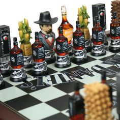 Jack Daniel's Chess Set