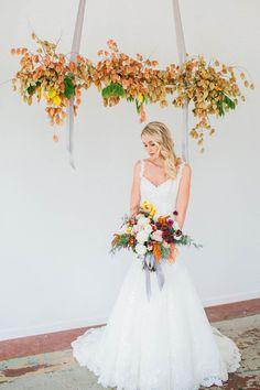 Swinging Leaves - Creative Alternatives to Wedding Arches - Photos