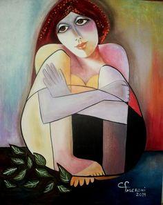ARTIST Maria Cristina Faleroni Oeuvre D'art, Les Oeuvres, Sculpture Art, Folk Art, Modern Art, Disney Characters, Fictional Characters, Abstract Art, Aurora Sleeping Beauty