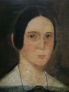 primitive oil painting