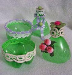Joyeros Reciclados, Ideas para Fabricar Objetos con Material Reciclado