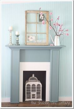 How to Decorate Series {day 17}: Using Objects as Art by The Shabby Chic Cottage - Home Stories A to Z