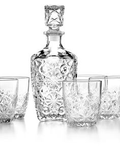 Registry Must: Bormioli whiskey set, so a stiff drink is only just a pour away!
