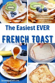 This is the best French toast recipe you'll ever make! Ready in just 5-minutes and perfectly cooked every single time! Grab the recipe today! #FrenchToast #FrenchToastRecipe #BreakfastRecipe #Breakfast #EasyRecipe #Brunch