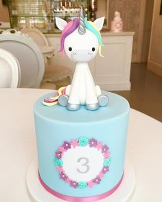 The Cake Parlour Unicorn Cake!! Super cute