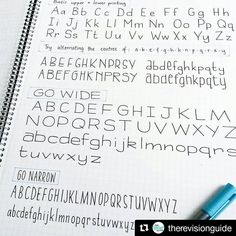 1,033 отметок «Нравится», 5 комментариев — Apsi's visual notes & doodles (@therevisionguide) в Instagram: «#Repost @therevisionguide with @repostapp ・・・ Different types of #typography will make your notes a…»