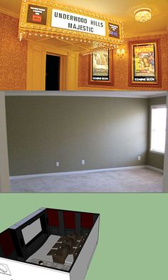 Empty Bedroom Gets Transformed Into Awesome Home Theater - TechEBlog