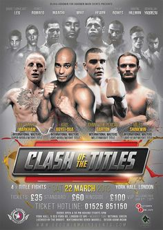 Clash of the Titles - design by KnockoutPosters.com