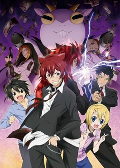 Cuticle Detective Inaba: Just started watching this. Interesting, funny, and fast-paced.