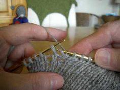 Three ways to do Short-Row Techniques: Part 2 Knitting Short Rows, Knitting Stiches, Knitting Videos, Crochet Videos, Knitting For Beginners, Crochet Stitches, Knit Crochet, Yarn Projects, Knitting Projects