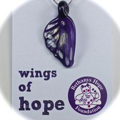 A special wing made just for Bethany`s Hope.