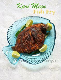 Karimeen Fry | South Indian fish fry recipe