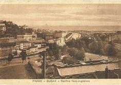Fiume- Sušak- Confine Italo- Jugoslavo