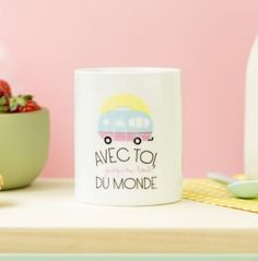 Mug Mr. Wonderful Jusqu'au bout du monde - popmarket.fr