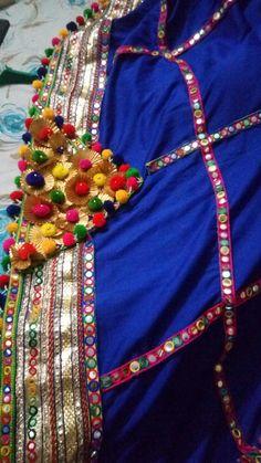 Navratri Garba, Navratri Dress, Navratri Festival, Garba Dress, Choli Dress, Ethnic Fashion, Girl Fashion, Chanya Choli, Easy Crafts For Teens