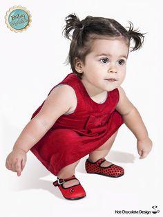 """Baby Chocolaticas! Nuevas Chocolaticas para bebés """"MARIQUITA"""". Disponibles en tallas 17, 19 y 21 en www.chocolaticas.com #chocolaticas #baby #shoes #zapatos #venezuela"""