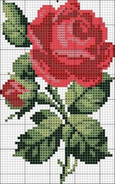 Good Pic Cross Stitch rose Strategies Given that I am mix regular sewing since I was a girl I in some cases think that anybody by now learns how to Beaded Cross Stitch, Cross Stitch Art, Simple Cross Stitch, Cross Stitch Alphabet, Modern Cross Stitch, Cross Stitch Flowers, Cross Stitching, Cross Stitch Embroidery, Easy Cross Stitch Patterns