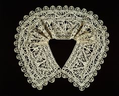 Border Made into a Collar. Late 16th-early 17th century, Italy. The Art Institute of Chicago 1937.451