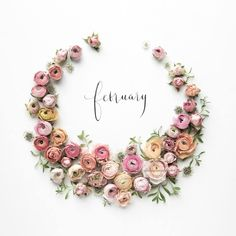 Hello February - Architecture and Home Decor - Bedroom - Bathroom - Kitchen And Living Room Interior Design Decorating Ideas - February Month, Hello January, New Month, Seasons Months, Days And Months, Months In A Year, 12 Months, Flower Frame, Flower Art