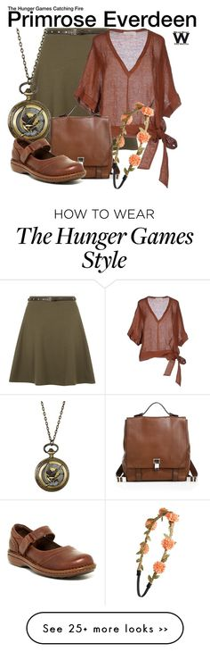 """The Hunger Games: Catching Fire"" by wearwhatyouwatch on Polyvore"