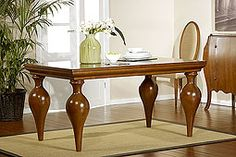 Royal Furniture, Furniture Legs, Upholstered Furniture, Table Furniture, Furniture Makeover, Centre Table Living Room, Dining Room Table Decor, Dining Table Design, Glass Round Dining Table