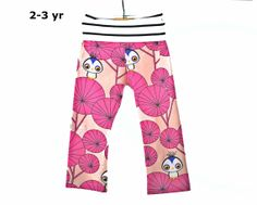 pants legging yoga pants 2 /3 yrs. MOD BIRD yoga by hazelkids, $22.00