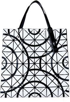 BAO BAO ISSEY MIYAKE Tokolo-pattern Lucent tote
