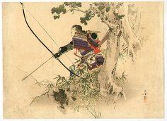 Mizuno Toshikata - Samurai Archer (1899)