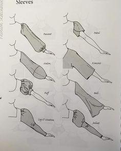 Year of the Sleeve illustrated. スリーブの年。 #スケッチ kleider zeichnen New Ideas -