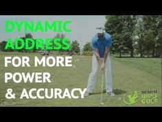 Simple Golf Tips: Dynamic Address For Better Contact - simple golf swing | golf made simple |Simple Golf