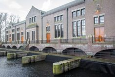 Ir.D.F. Woudagemaal pumping station in Lemmer, The Netherlands/ Unesco Word Heritage List