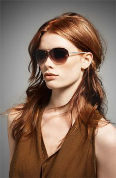 MARC BY MARC JACOBS 59mm Rimless Aviator Sunglasses | Nordstrom