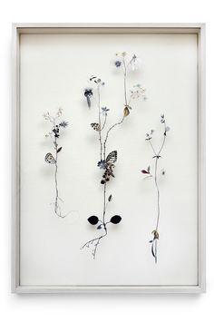 Beautifully Pieced Flower Collage by Anne Ten Donkelaar - Wave Avenue