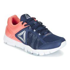 Reebokin treenikengät ovat täydellinen kumppani salille. Ne tukevat ja joustavat ja takaavat parhaan mahdollisen suorituskyvyn. - Väri : Laivastonsininen / CORAIL - kengät Naiset 50,99 €