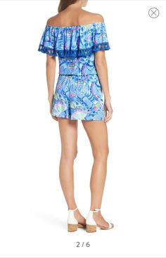 fc3fc4f583a Lilly Pulitzer La Fortuna Romper -Large  fashion  clothing  shoes   accessories