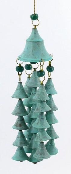 pretty bell chimes love these...especially the color !