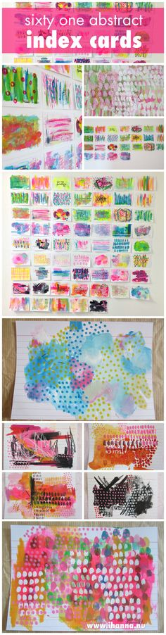 The daily challenge of painting an abstract piece of art on an index card during June and July is over – and it's time to celebrate this achievement!…