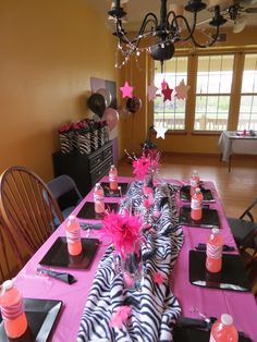 my daughters rockstar diva party!