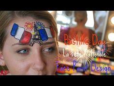 Bastille Day, Jour De Bastille Face Paint Design